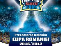 Trofeul Cupei României a ajuns la Sibiu. Suporterii sunt invitați la concurs