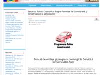 Înmatricularea mașinilor, cu programare online