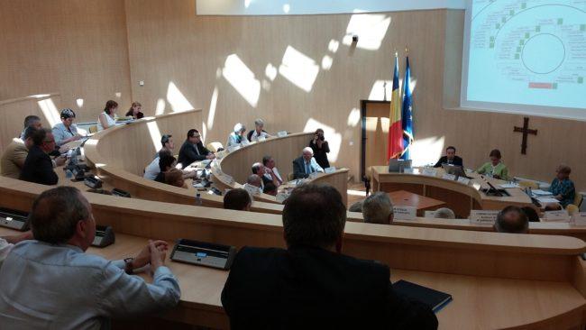 Bugetul Consiliului Județean Sibiu se votează astăzi în ședință extraordinară