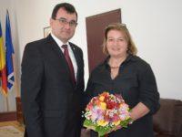Prefectul Lucian Radu s-a întâlnit cu Consulul RFG la Sibiu