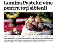 Mesagerul de Sibiu vă urează să aveți parte de sărbători binecuvântate!