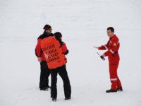 Salvator montan, rănit în timpul unei acțiuni în Munții Făgăraș