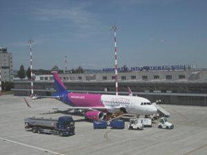 Baza de la Sibiu a Wizz Air, redeschisă