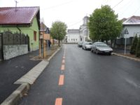 Strada Strungului a fost modernizată.Circulația pe strada Macaralei revine pe sens unic