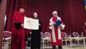 Principesa Muna Al Hussein a Regatului Haşemit al Iordaniei – Doctor Honoris Causa al ULBS