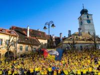Meciul de baschet Steaua – CSU Sibiu se vede în Piața Mică