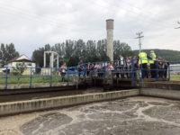Comisia Europeană și Apă Canal au invitat copiii rășinărenilor la Stația de Epurare Sibiu