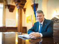 Iohannis și-a anunțat, la Sibiu, candidatura pentru al doilea mandat prezidențial