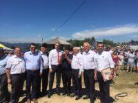 Ministrul Daea a petrecut la Jina, alături de pesediștii sibieni / foto: Viorel Arcaș