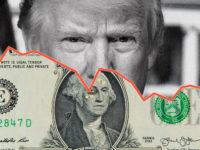 Dolarul a scăzut în patru ședințe cu 9 bani