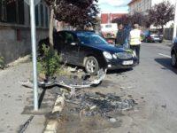 Încă un accident la intersecția Tudor Vladimirescu – Odessa. Printre victime se află și un bebeluș! | FOTO