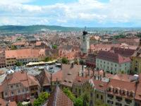 Sibiul, văzut din turnul Bisericii Evanghelice / foto: Patti Morrow