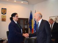 Ambasadorul Austriei, în vizită de rămas-bun la Prefectura Sibiu