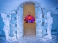 Primele rezervări la Hotelul de Gheață