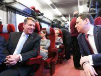 Ar putea Iohannis să facă naveta de la Sibiu la București cu trenul?