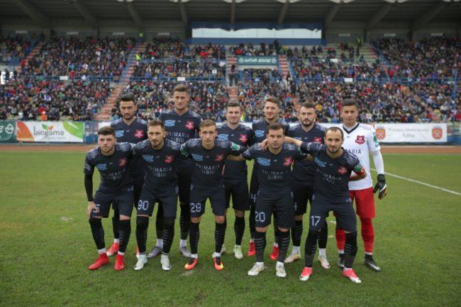 FC Hermannstadt joacă în nocturnă la Mioveni