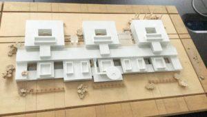 Macheta viitorului spital județean, propusă de Ministerul Sănătății