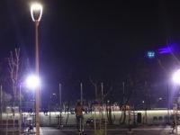 Iluminatul public, modernizat în două parcuri din municipiul Sibiu | FOTO