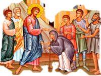Actualitatea Evangheliei | Evanghelia Duminicii a XXVII-a după Rusalii (Vindecarea femeii gârbove)»Îndemnul la fapta milostivă