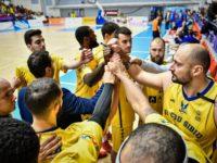 BC CSU Sibiu bifează o nouă victorie pe teren propriu. Moment de reculegere în memoria Regelui Mihai, la Sala Transilvania