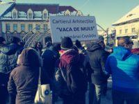 Protest al locuitorilor din Cartierul Arhitecților | ACTUALIZARE