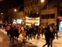 Mii de sibieni protestează împotriva PSD și a Guvernului | ȘTIREA SE ACTUALIZEAZĂ