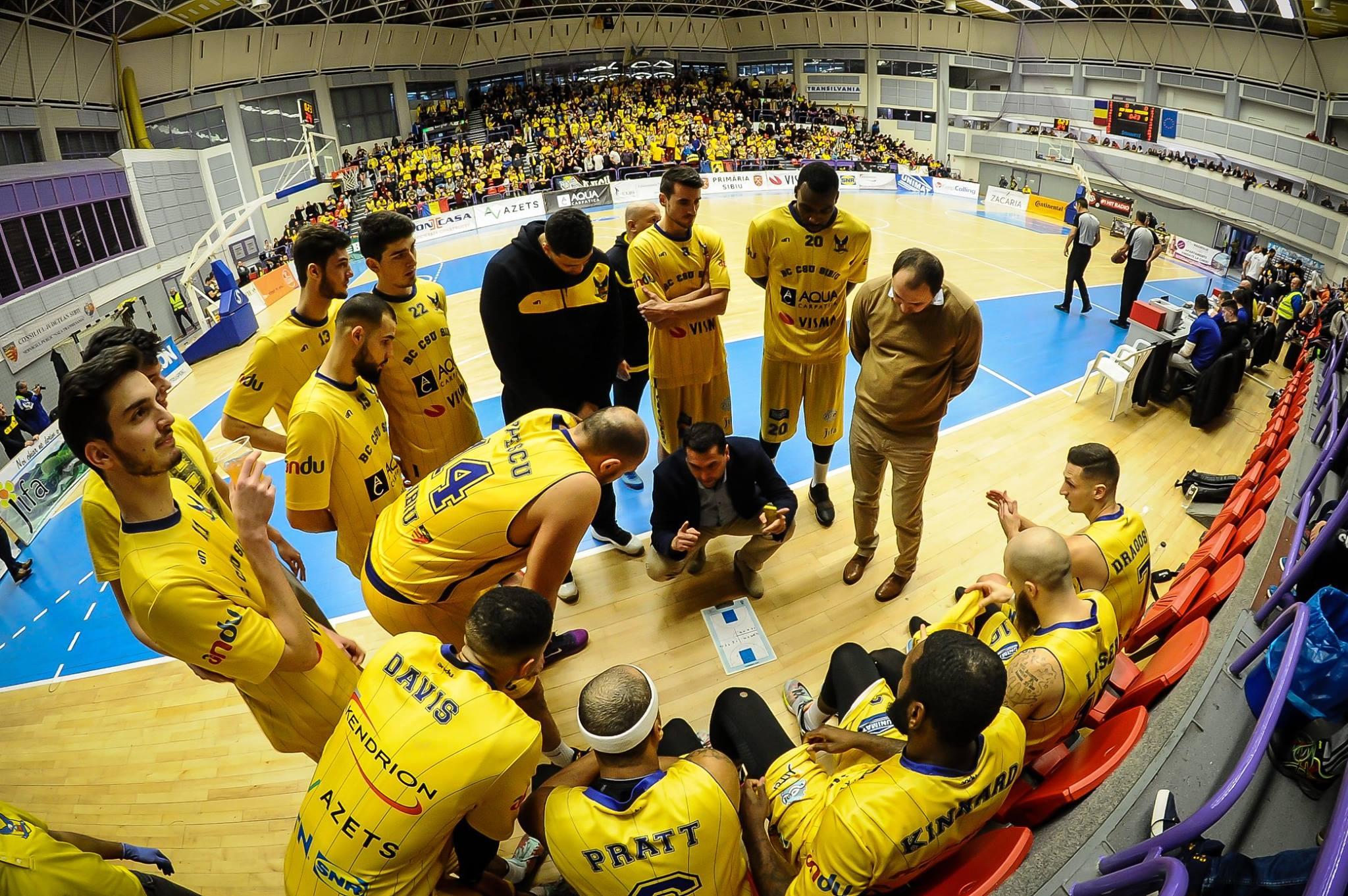 CSU Sibiu, calificată în Final Four-ul Cupei României după un meci modest