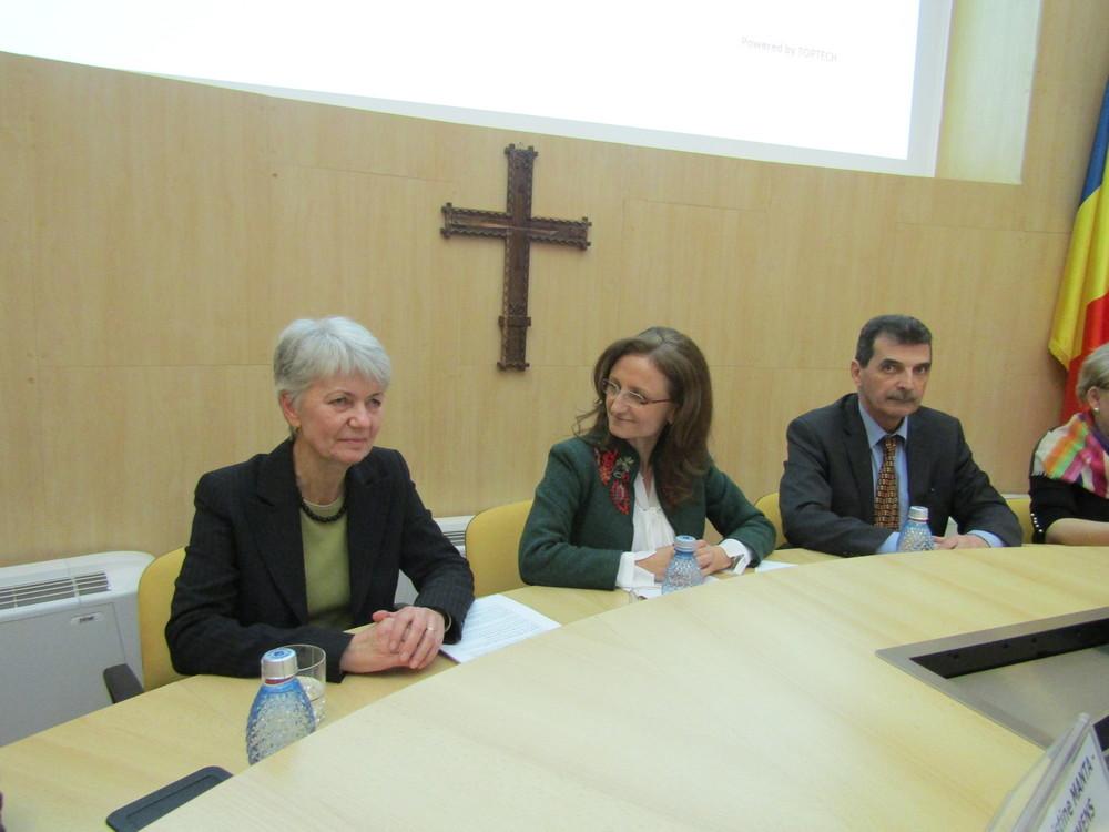 Christine Manta Klemens a intrat în conducerea Consiliului Județean