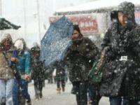 Precipitaţii mixte, ninsori şi polei până mâine în toată ţara