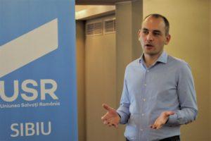 Adrian Echert este noul președinte al filialei USR Sibiu