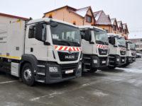 Noi autospeciale performante pentru exploatarea eficientă a rețelelor administrate de Apă Canal SA Sibiu