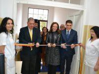 Președintele Daniela Cîmpean a inaugurat, pe 20 decembrie 2017, clădirea complet renovată și modernizată a secției clinice Pneumologie 1 din cadrul Spitalului de Pneumoftiziologie din Sibiu, valoarea investiției fiind de 3,71 milioane de lei