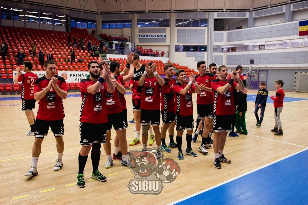 Cupa României la handbal masculin: Handbal Club Sibiu primește vizita celor de la SCM Poli Timișoara