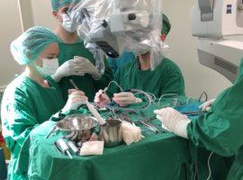 Operație complexă, realizată de neurochirurgii sibieni