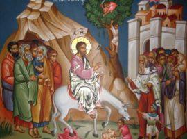 Actualitatea Evangheliei | Predică la Duminica a VI-a din Post (a Floriilor) » Intrarea Domnului în Ierusalim