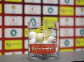 Miercuri se trag la sorți semifinalele Cupei României