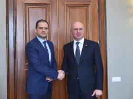 Ministrul Trif s-a întâlnit cu premierul Republicii Moldova
