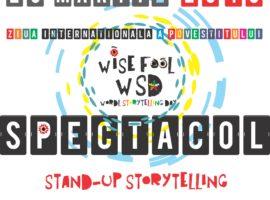 FINALA Concursului de scris și zis Povești ZIP 2018 dedicat Zilei Internaționale a Povestitului