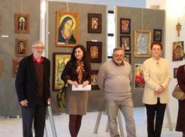 Expoziție de icoane și pictură la Facultatea de Litere din Sibiu
