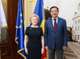 Ambasadorul Kazahstanului a vizitat Sibiul
