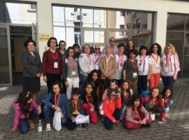Profesori și elevi din cinci țări, în vizită la Consiliul Județean Sibiu