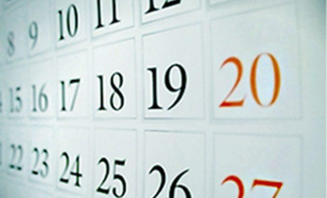 Calendar | 5 februarie
