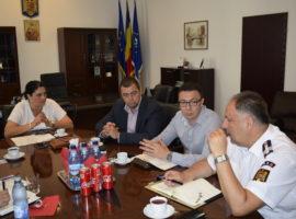 SMS-uri de avertizare meteo pentru județul Sibiu