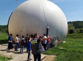 Săptămâna verde. Zeci de elevi au vizitat stația de epurare a Sibiului