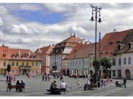 Studenții promovează Sibiul