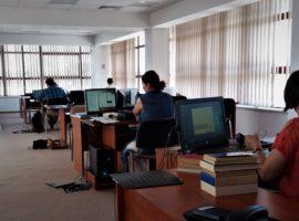 Nou la Biblioteca ASTRA: sală de lectură cu vedere panoramică