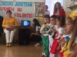 Prin artă, copilașii spun NU violenței