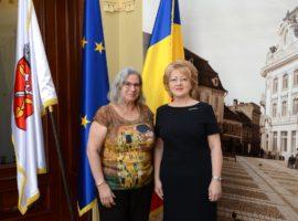 Ambasadorul Israelului a vizitat Sibiul