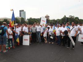 PSD Sibiu: Aproape 3.000 de sibieni au participat la mitingul din Piața Victoriei
