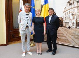 Ambasadorul Japoniei s-a întâlnit cu primarul Astrid Fodor